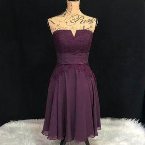 Morilee by Madeline Gardner Beautiful Purple Dress